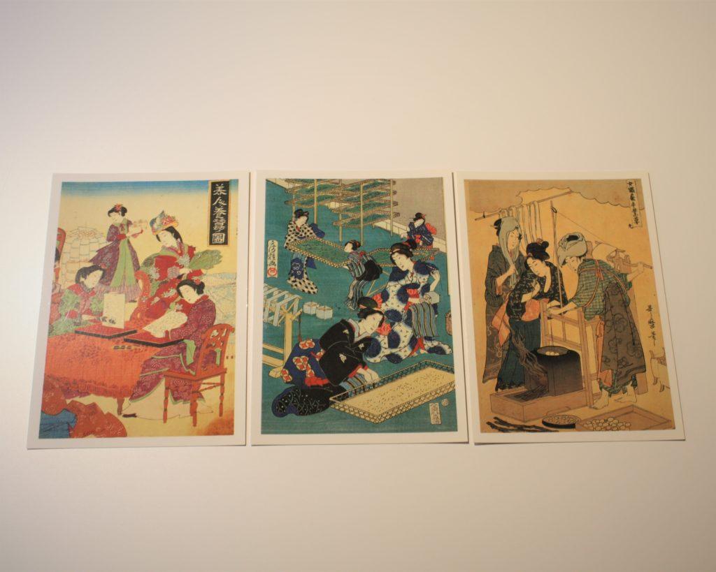 【9/1より】ミュージアムショップにて、博物館オリジナルの絵はがきを半額で販売!